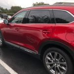 2018 Mazda CX-9 in metallic red