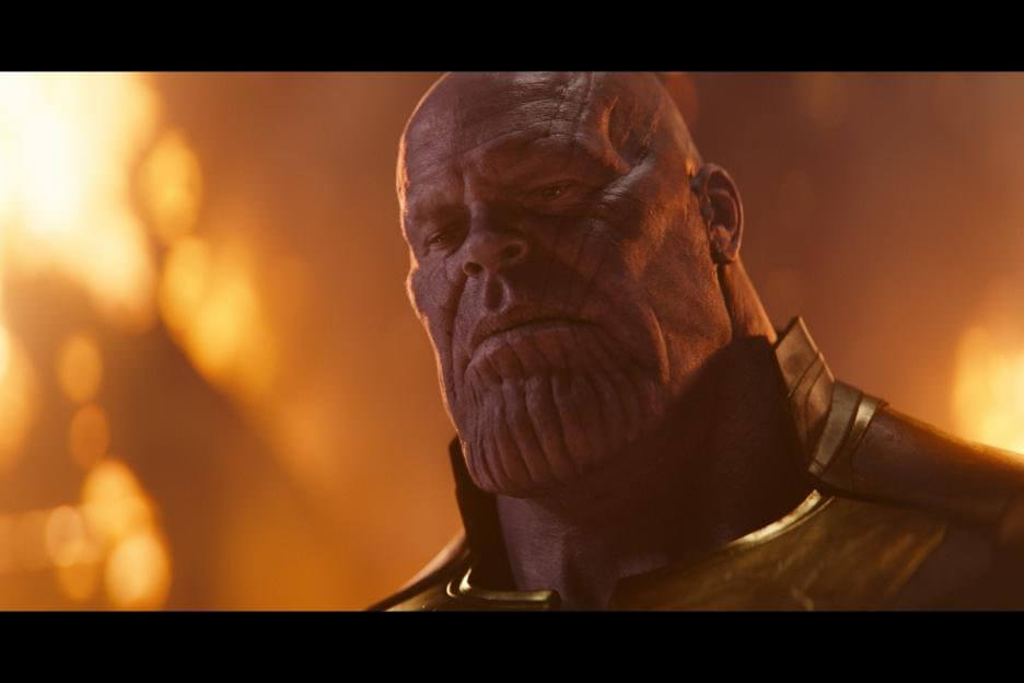 Thanos, supervillain in Marvel's Avengers: infinity War