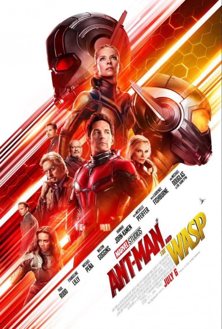 Ant Man and the Wasp movie poster for review