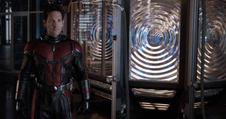 Paul Rudd as Ant Man in Ant Man and the Wasp