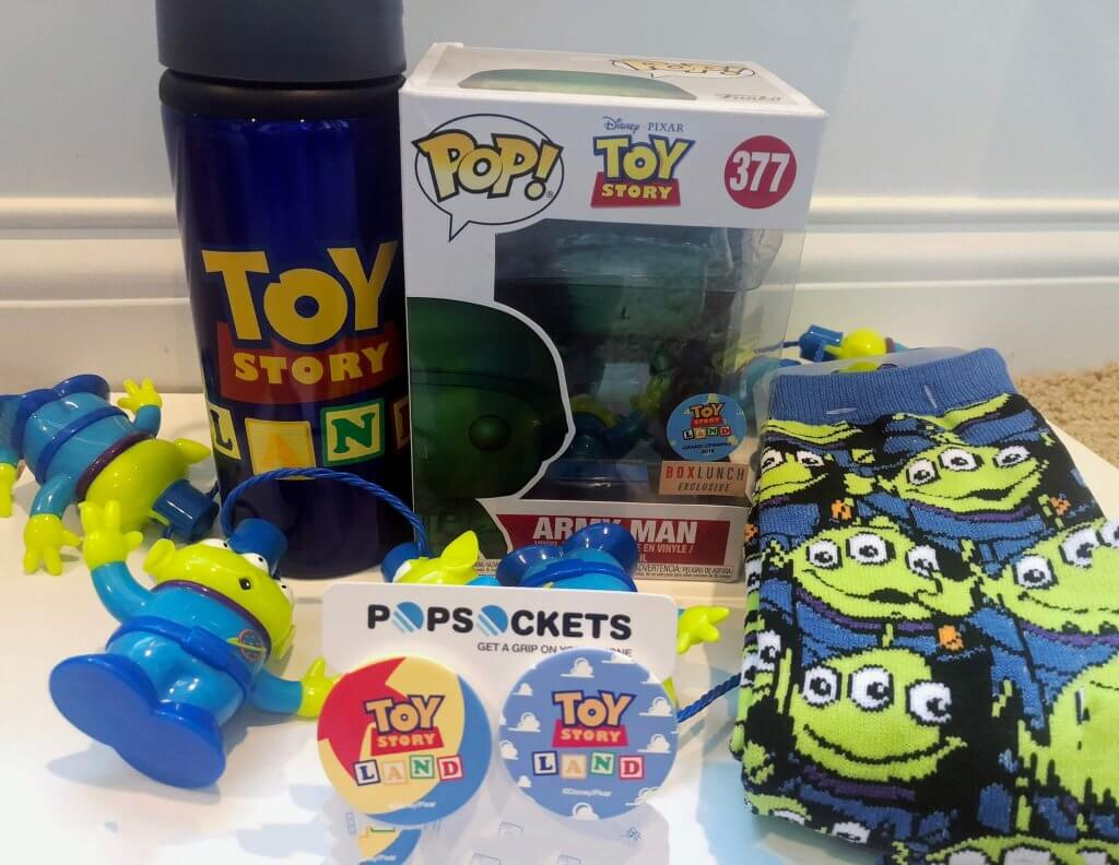 Toy Story Land exclusive merchandise giveaway