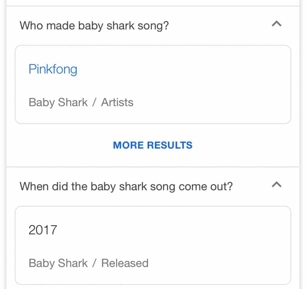 baby shark song is NOT by Pinkfong