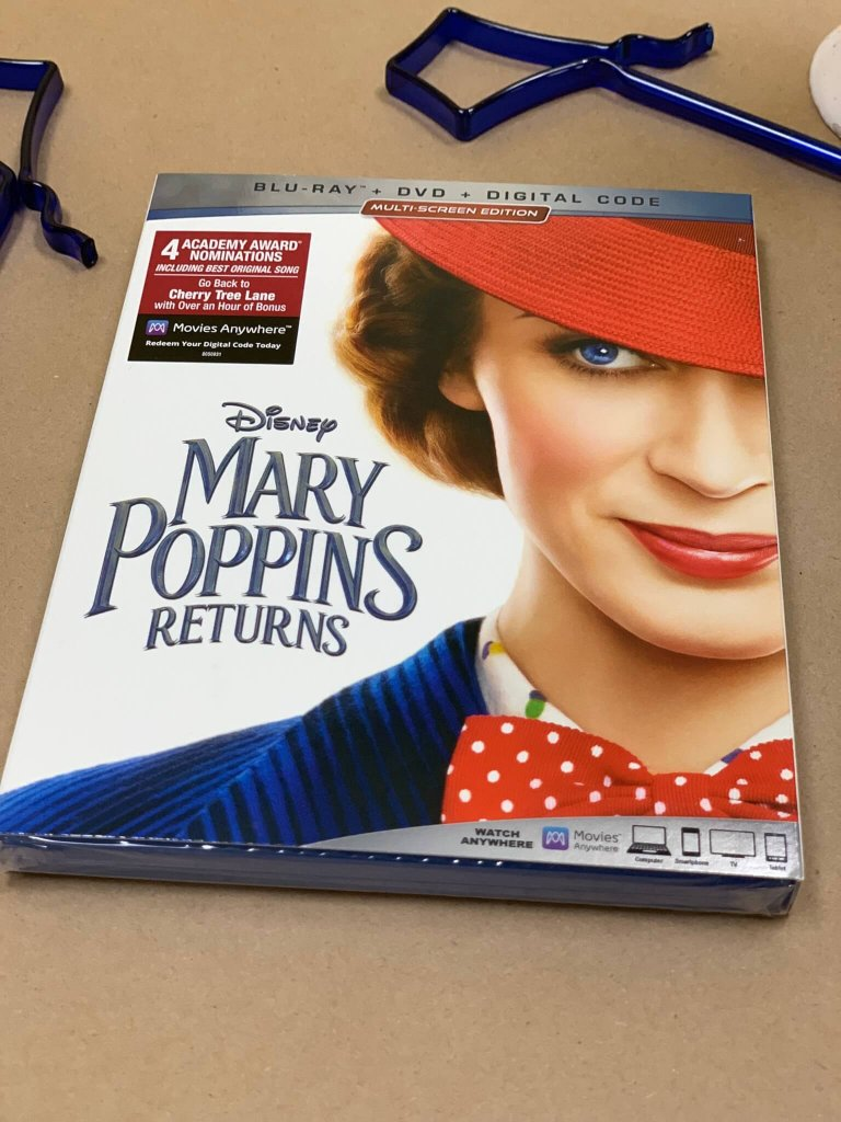 Mary Poppins Return is available in DVD, BluRay, Ultra HD 4K BluRay, and digital formats now!