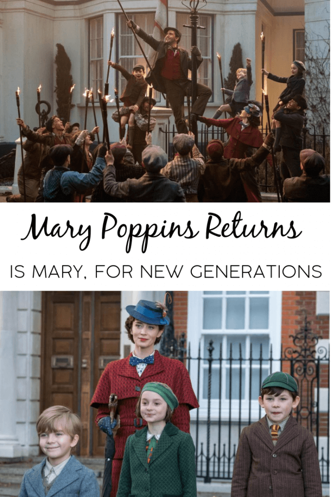 "Mary Poppins returns is said to ""rhyme with"" the original film... and it does just that. Find out why it's the Mary Poppins film for our generations."